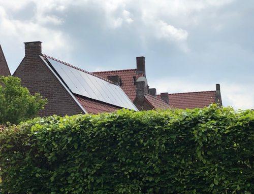 Stroomproductie zonnepanelen kan ook pieken op bewolkte dagen.